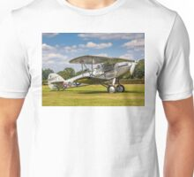Hawker Demon I K8203 G-BTVE taxying out Unisex T-Shirt