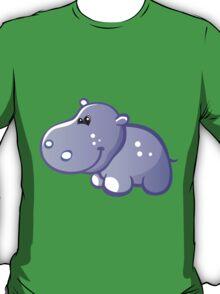 Funny blue hippo T-Shirt