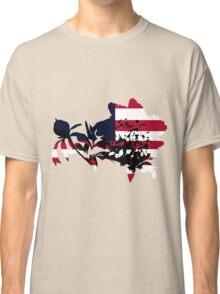 Patriotic Peony Classic T-Shirt