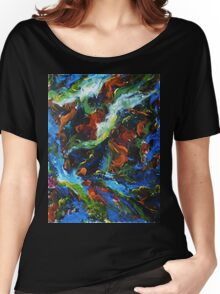 Turbulent Space Women's Relaxed Fit T-Shirt