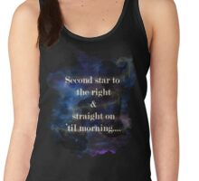 Second star to the right..... Women's Tank Top