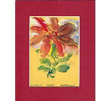 FLOWER DESIGN Photographic Print