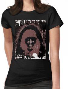 Splattered Fuzz: Morbid Beauty Womens Fitted T-Shirt