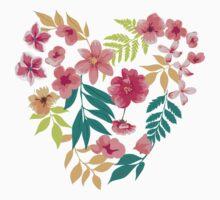 Flower Heart Kids Clothes