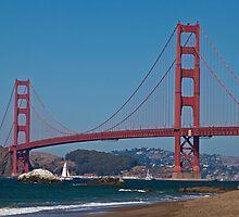 Golden Gate Bridge by Barb White