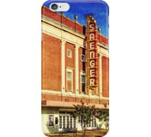 Saenger Theater iPhone Case/Skin