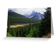 Valley of the Ten Peaks Greeting Card