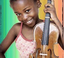 Little Miss Sunshine Tshego by RebeccaDaisey