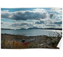 """'Mt. Desert Island from McNeil Point"""" Poster"""