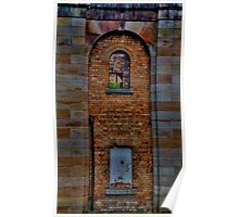 Colours Of Stone - Gladesville Asylum - The HDR Experience Poster