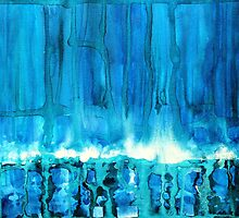 Breakers off Point Reyes original painting by CrowRisingMedia