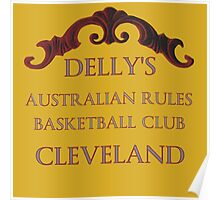 Delly's Australian Rules Basketball Club Poster
