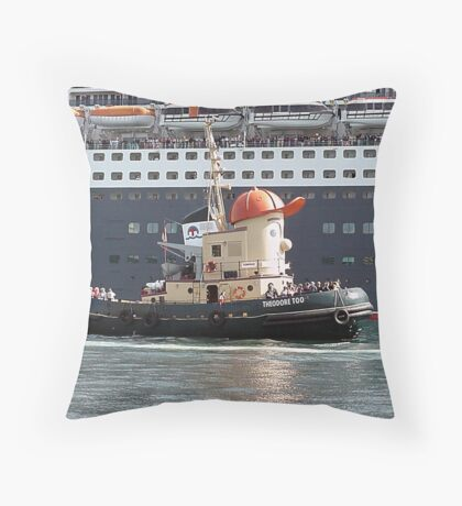 The Assistant Throw Pillow