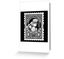 Legend of Postage Greeting Card
