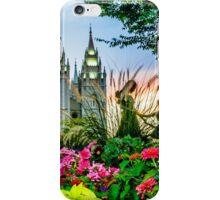 SLC LDS Temple iPhone Case/Skin