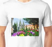 SLC LDS Temple Unisex T-Shirt