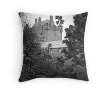 Cawdor Castle. Throw Pillow
