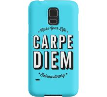 Carpe Diem. Samsung Galaxy Case/Skin