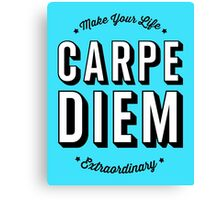 Carpe Diem. Canvas Print