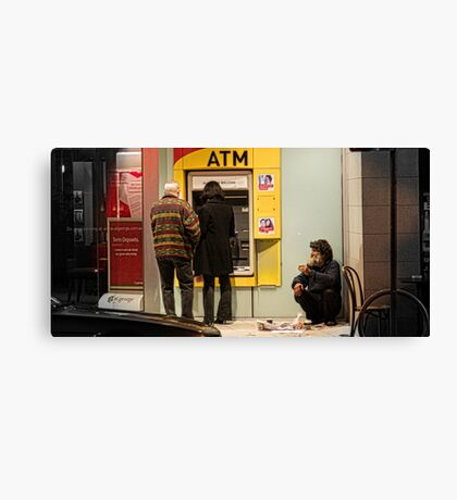 Homeless Canvas Print