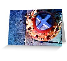Fire Hydrant Greeting Card