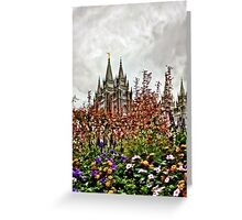 Castle Temple i phone Case Greeting Card