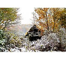 October Snow Photographic Print