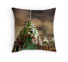 Dilapidated Deco Throw Pillow