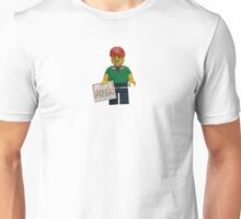 LEGO Pizza Delivery Guy Unisex T-Shirt