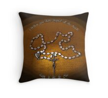The Rosary - Florence Barclay Throw Pillow