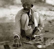 desert snake charmer by DareImagesArt