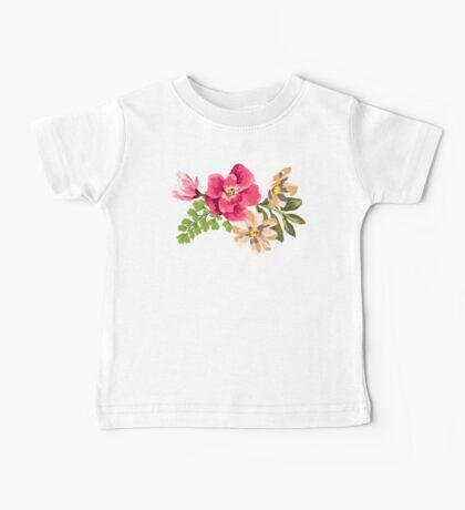 Vintage Flower Baby Tee