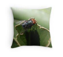bug V Throw Pillow