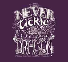 Never Tickle a Sleeping Dragon (Light) Unisex T-Shirt