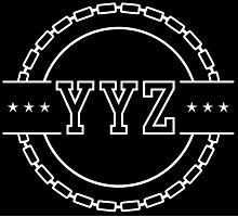 YYZ Chain Crest Photographic Print