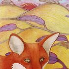 Foxy Fields by fesseldreg