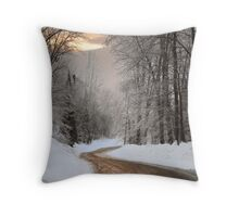 My Road Throw Pillow