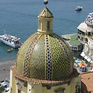 Positano Tiled Dome by longaray2