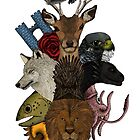 Game of animal. Adventure in seven kingdom (color version) by Beatrizxe