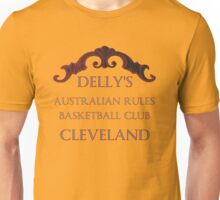 Delly's Australian Rules Basketball Club Unisex T-Shirt