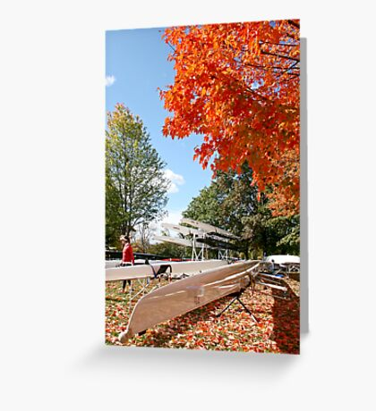 The colours of Fall Greeting Card