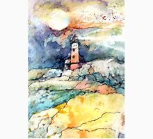 lighthouse on Yupo Unisex T-Shirt