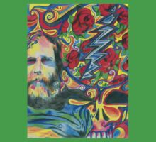Brent Mydland 1 - Design 1 One Piece - Short Sleeve