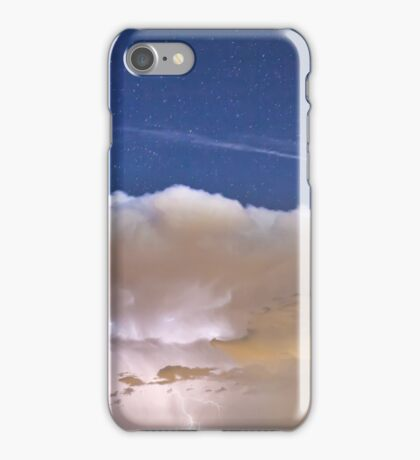 Springtime Thunderstorm On the Colorado Plains iPhone Case/Skin