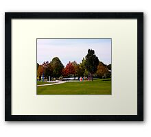 Child and Colour Play Framed Print
