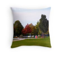 Child and Colour Play Throw Pillow