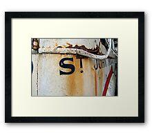 ST John Ambulance Framed Print