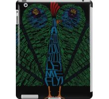 The Other Guys Peacock iPad Case/Skin