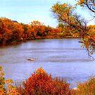 Autumn on the Assiniboine by Larry Trupp
