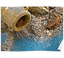 Water Urn Poster